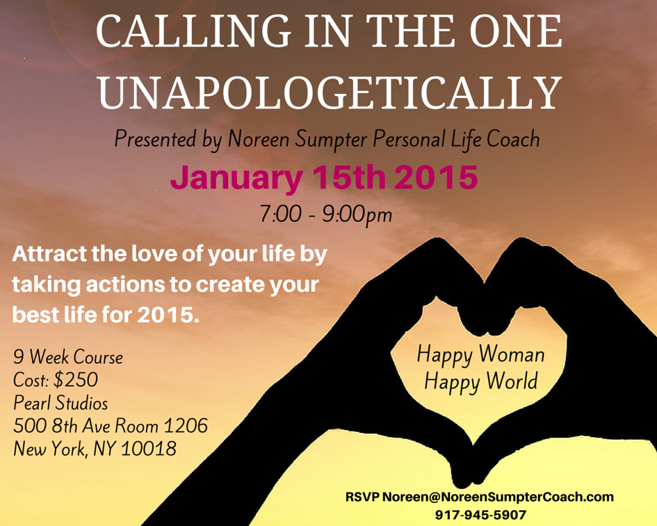 It's The Last Day To Sign Up For Calling In The One Unapologetically