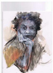 Portrait done by close friend